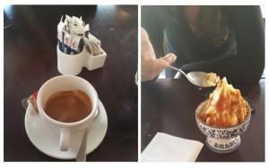 מו ומו - לקינוח - קפה וגלידה